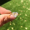2.37ct Heart Shape Rose Cut Diamond GIA H VVS2 3