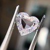 2.37ct Heart Shape Rose Cut Diamond GIA H VVS2 10