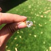 2.37ct Heart Shape Rose Cut Diamond GIA H VVS2 15