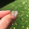 2.37ct Heart Shape Rose Cut Diamond GIA H VVS2 11