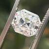 2.39ct Antique Asscher/Square Emerald Cut Diamond, GIA D/IF 12