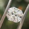 2.39ct Antique Asscher/Square Emerald Cut Diamond, GIA D/IF 2