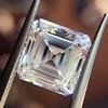 2.42ct Vintage Asscher Cut Diamond GIA F VS2 5