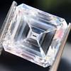2.42ct Vintage Asscher Cut Diamond GIA F VS2 3