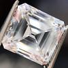 2.42ct Vintage Asscher Cut Diamond GIA F VS2 1
