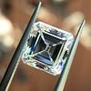 2.42ct Vintage Asscher Cut Diamond GIA F VS2 8