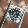 2.42ct Vintage Asscher Cut Diamond GIA F VS2 22