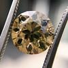 2.44ct Fancy Brown Yellow Old European Cut Diamond GIA FBY SI1 18