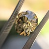 2.44ct Fancy Brown Yellow Old European Cut Diamond GIA FBY SI1 12