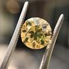 2.44ct Fancy Brown Yellow Old European Cut Diamond GIA FBY SI1 3