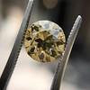 2.44ct Fancy Brown Yellow Old European Cut Diamond GIA FBY SI1 17