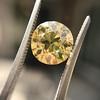 2.44ct Fancy Brown Yellow Old European Cut Diamond GIA FBY SI1 23
