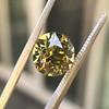 2.44ct Fancy Brown Yellow Old European Cut Diamond GIA FBY SI1 7
