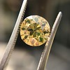 2.44ct Fancy Brown Yellow Old European Cut Diamond GIA FBY SI1 1