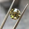 2.44ct Fancy Brown Yellow Old European Cut Diamond GIA FBY SI1 6
