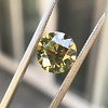 2.44ct Fancy Brown Yellow Old European Cut Diamond GIA FBY SI1 8