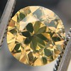 2.44ct Fancy Brown Yellow Old European Cut Diamond GIA FBY SI1 20