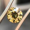 2.44ct Fancy Brown Yellow Old European Cut Diamond GIA FBY SI1 10