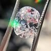 2.51ct Oval Shape Diamond GIA E VS 11