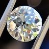 2.54ct Old European Cut Diamond/Antique Cushion Cut, GIA L VS1 12