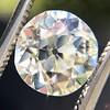 2.54ct Old European Cut Diamond/Antique Cushion Cut, GIA L VS1 9