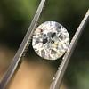 2.54ct Old European Cut Diamond/Antique Cushion Cut, GIA L VS1 7