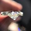 2.54ct Old European Cut Diamond/Antique Cushion Cut, GIA L VS1 4