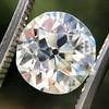 2.54ct Old European Cut Diamond/Antique Cushion Cut, GIA L VS1 0