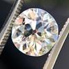 2.54ct Old European Cut Diamond/Antique Cushion Cut, GIA L VS1 2