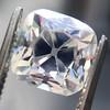 2.56ct Peruzzi/Antique Cushion Cut Diamond GIA L VS1 5
