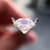 2.56ct Peruzzi/Antique Cushion Cut Diamond GIA L VS1 13