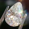 2.61ct Antique Pear Cut Diamond GIA I SI1 4