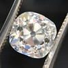 2.65ct Old Mine Cut Diamond GIA K SI2 14
