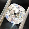 2.65ct Old Mine Cut Diamond GIA K SI2 3