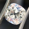 2.65ct Old Mine Cut Diamond GIA K SI2 2