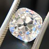 2.65ct Old Mine Cut Diamond GIA K SI2 4