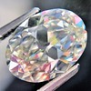 2.83ct Antique Oval GIA K SI1 0