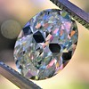 2.83ct Antique Oval GIA K SI1 4
