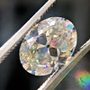 2.83ct Antique Oval GIA K SI1 10