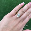 2.83ct Antique Oval GIA K SI1 7