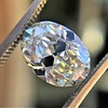 2.83ct Antique Oval GIA K SI1 12