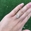 2.83ct Antique Oval GIA K SI1 2