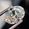 2.83ct Antique Oval GIA K SI1 1