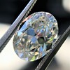 2.83ct Antique Oval GIA K SI1 8