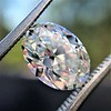 2.83ct Antique Oval GIA K SI1 11