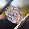 2.83ct Antique Oval GIA K SI1 3