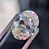 2.83ct Antique Oval GIA K SI1 14