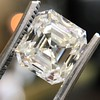 2.89ct Antique   Asscher Cut Diamond GIA I VS2 8