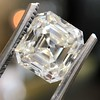 2.89ct Antique   Asscher Cut Diamond GIA I VS2 1