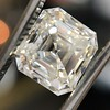 2.89ct Antique   Asscher Cut Diamond GIA I VS2 3